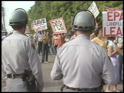 PCB Protest in Warren County 1982