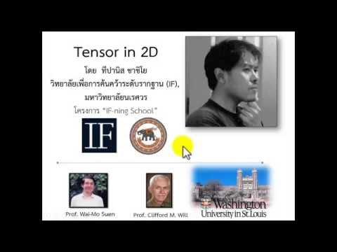 Tensor in 2D - ภาพรวม