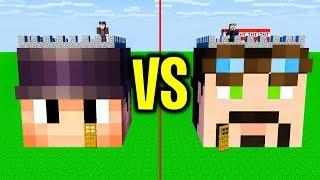 Zamek DEALEREQ vs Zamek SHEO | Minecraft Pojedynek!