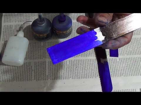 видео: Краска для разметки на металле