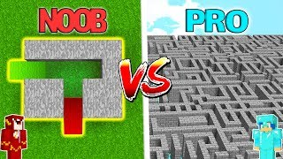 LABERINTO TROLL 99% IMPOSIBLE EN MINECRAFT 😱 NOOB VS PRO EN MINECRAFT