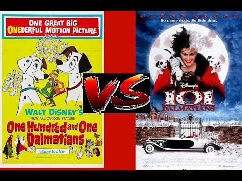 Vs 101 Dalmatians Official Trailer 1961 Vs 1996 Youtube