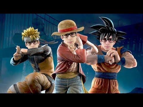 Jump Force: GOKU vs NARUTO vs RUFY (un DISASTRO TOTALE!!)