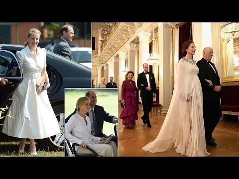 Not the same Kate! Elegant silent Sophie joins Edward to meet children in Sri Lanka