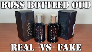 Fake fragrance - Boss Bottled Oud by Hugo Boss