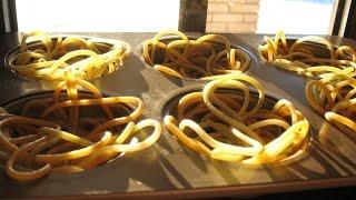 Рецепт спагетти. Простой салат из редьки.