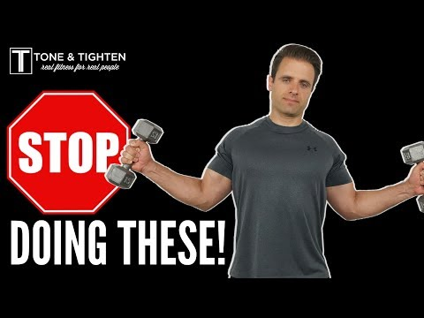 3 Common Dumbbell Exercise Mistakes And How To Fix Them! How To Lift Weights Correctly