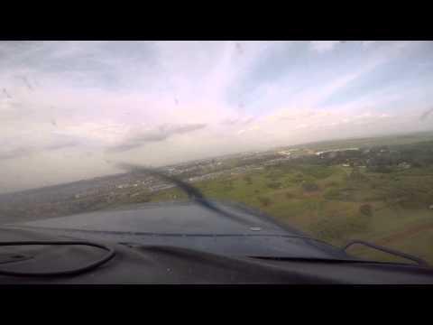 Final Approach Runway 07 Wilson Airport