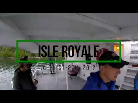 Isle Royale 2017: Part 2-North Desor to Little Todd to Todd Harbor