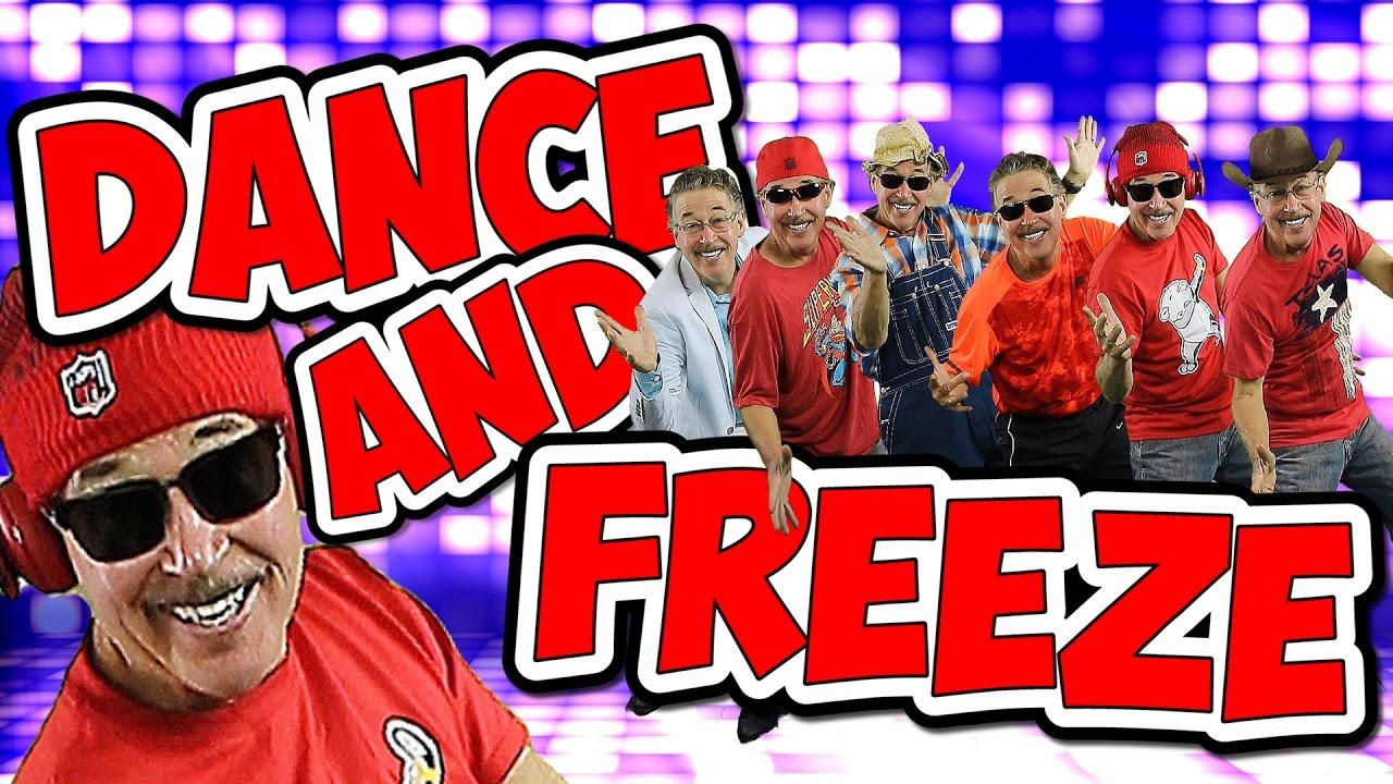 Dance & Freeze | Dance Song for Kids | Jack Hartmann
