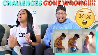 10 New Internet Challenges Gone Horribly Wrong REACTION!!!