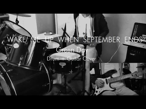 wake me up when september ends green day drum guitar cover youtube. Black Bedroom Furniture Sets. Home Design Ideas