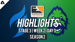 Dallas Fuel vs. Vancouver Titans   Overwatch League S2 Highlights - Stage 3 Week 2 Day 3