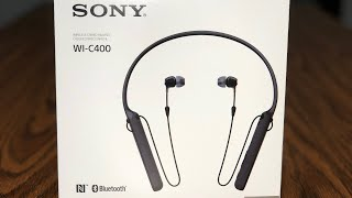 Sony WI-C400 Headphones Review