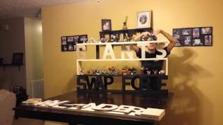 How To Build A Custom Name Shelf Part 2 (mine Is Skylanders)