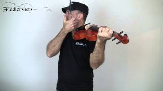 Pain from holding a violin or viola