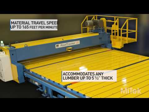 MACHINERY - RoofTracker III - Roller Press