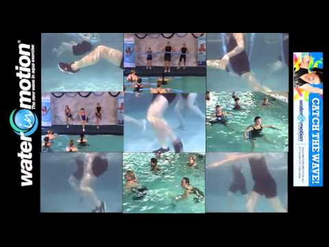 Water in Motion - Aqua Pre-Choreographed Group Exercise - SCW Fitness