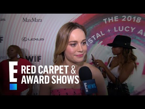 Brie Larson Says Captain Marvel Role Is an Amazing Challenge  E!  from the Red Carpet