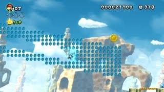 New Super Mario Bros. U - Mines Candi-5 - Deuxième pièce étoile (Wii U)