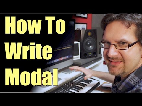 How To Create Guitar Modes Backing Tracks