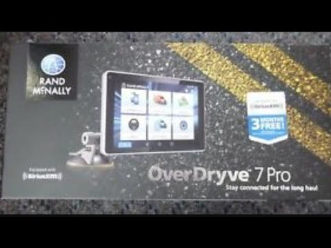 Rand McNally Over Dryve 7 Pro review
