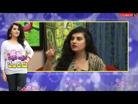 Actress Archana Birthday Celebrtaions with Charran TV - exclusive interview by Peddi K Eshwar