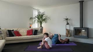 Yoga parent-enfant - quelques postures - 1ère partie