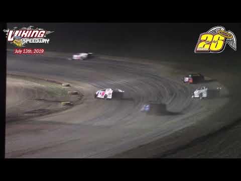 Viking Speedway WISSOTA Modified A-Main (Bob Gierke Memorial) (7/13/19)