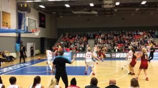 Eurobasket 2017: GB women vs Albania, Manchester 20 February 2016