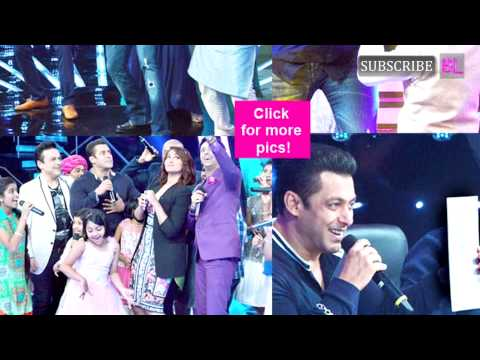 When Salman Khan and Sonakshi Sinha took the Indian Idol Junior stage by storm