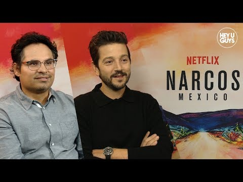 Narcos: Mexico Diego Luna & Michael Pena on the complexities and modern parallels in Season 1