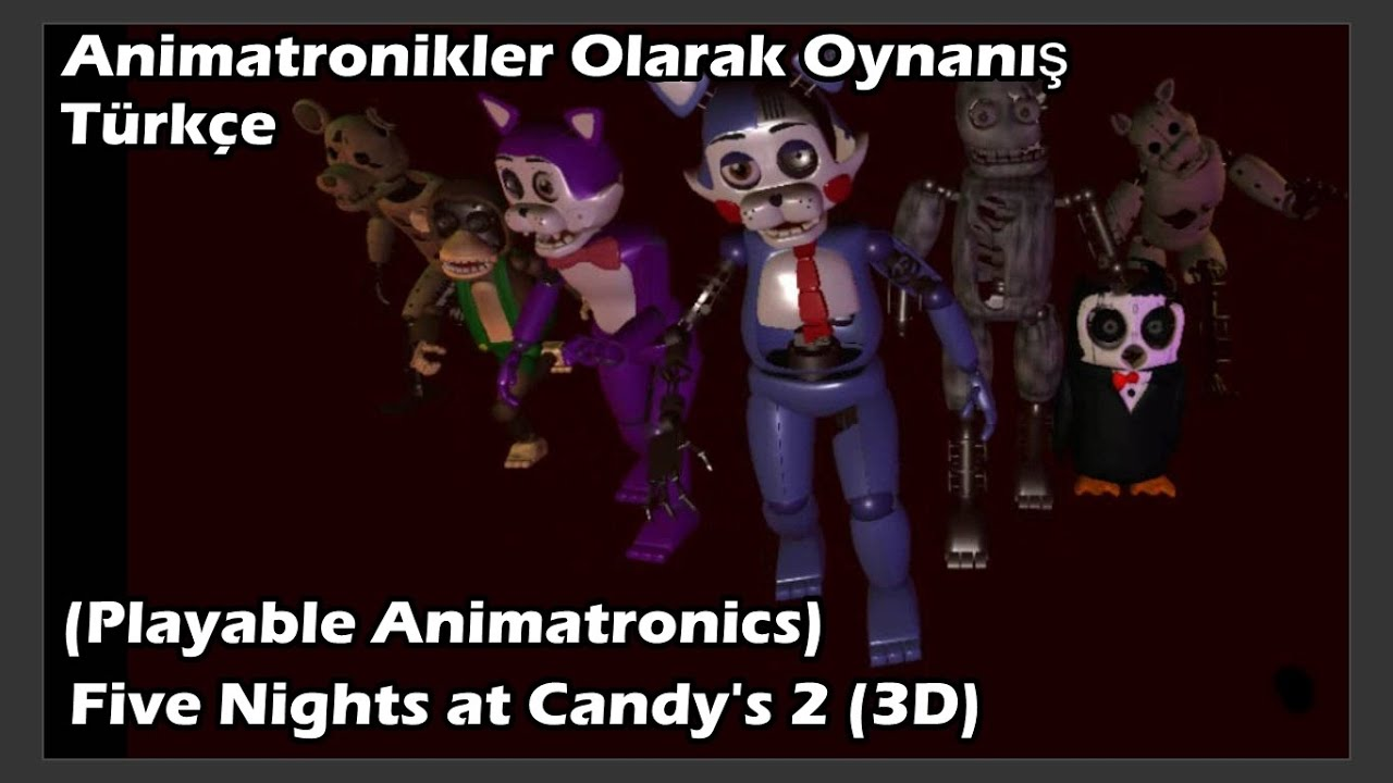 FABRİKADAKİ SON GÜNLER I Five Nights at Candy's 2 Türkçe I Bölüm 3 (FİNAL)