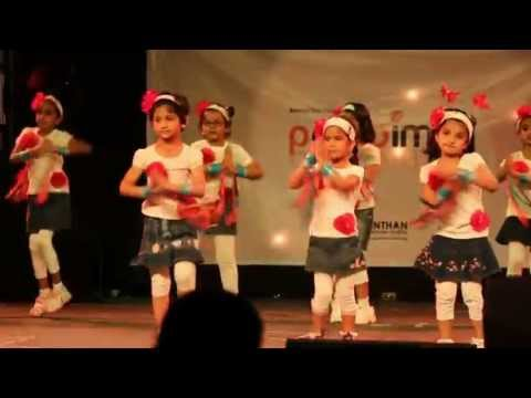 Waka Waka Dance - Sr. KG A - Manthan Annual Day - 9-March-2013