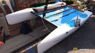 2015 Hobie Wave Catamaran - Walkaround - 2015 Annapolis Sail Boat Show