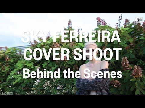 Sky Ferreira - FADER Cover Shoot