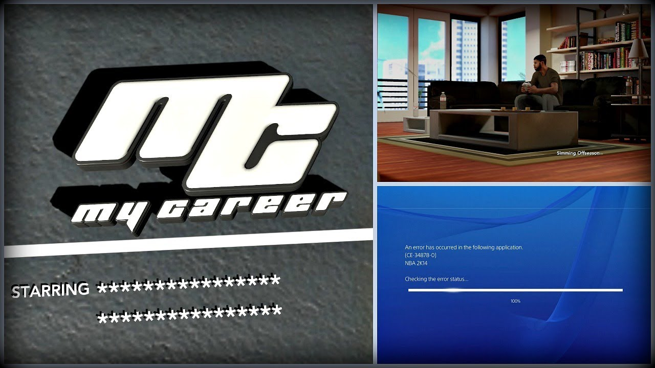 Nba 2k14 Next Gen Mycareer How To Fix A Deadly Glitch Ps4 Youtube