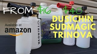 ULTIMATE Amazon FOAM CANNON Comparison