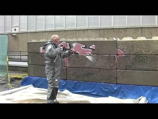 DiBO op de ISSA Interclean demonstratie nieuwe hogedruktrailer 2014