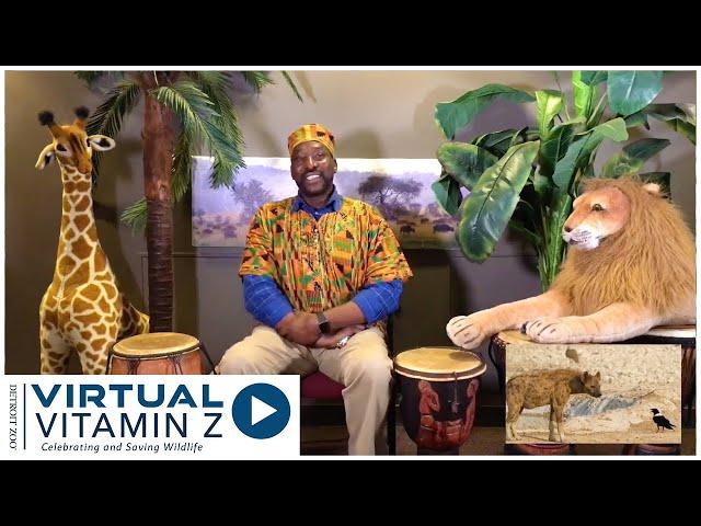 Virtual Vitamin Z | Wildlife Adventure Story: The Hyena and the Crow