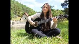 Clip - Jeniffer cantando a música de Roberto Carlos