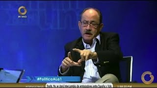Vladimir a la 1 - Felipe Mujica: Debemos participar en los procesos electorales (Parte 2 de 2)