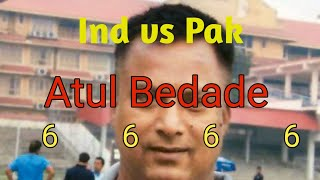 Atul Bedade 4 Sixes vs Pak in 1994 | austral - Asia cup in 1994 ind vs pak final