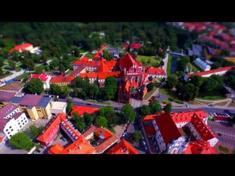 Vilnius - The Lego City in 4K |  Monika Linkytė - Po dangum  (96 BPM Radio Remix)