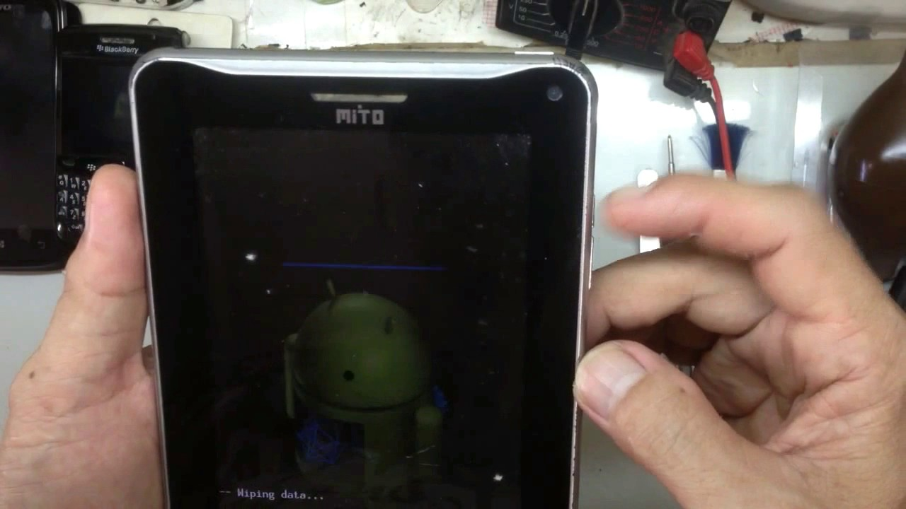 Hard Reset Mito T720 Youtube Maxtron M8 Tablet Android