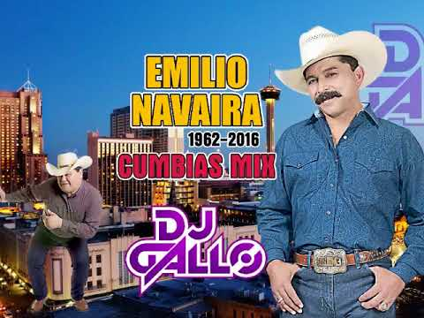 Emilio Navaira Cumbias Mix DJ Gallo