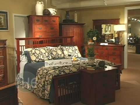 Golden Oak Finished Bedroom Set With Panel Bed From 39 Miller 39 Collection By Klaussner Youtube
