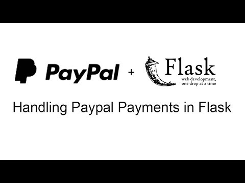 Creating Paypal Express Payments in a Flask App