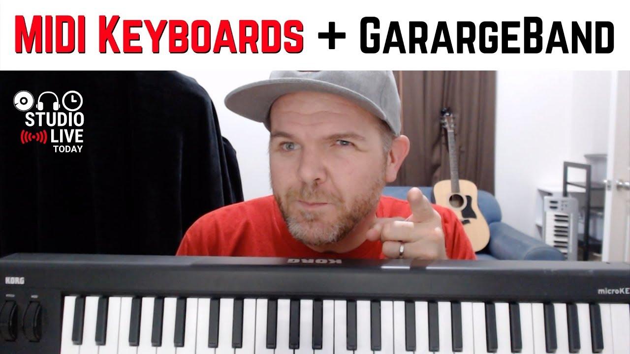 A 11s garageband usb midi connecting in keyboard ilife How to