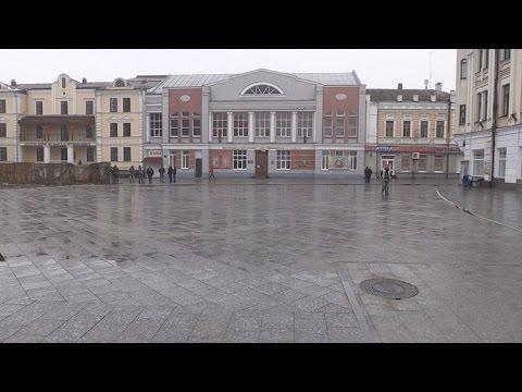 В Житомире открыли вторую часть отремонтированной улицы Михайловской